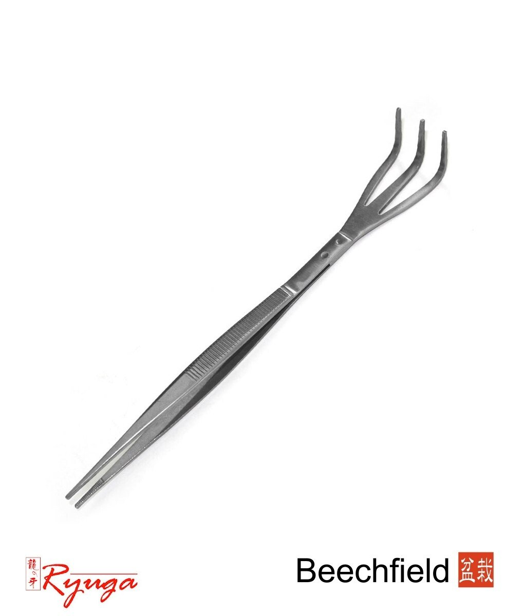 ryuga bonsai rake    tweezers 210mm