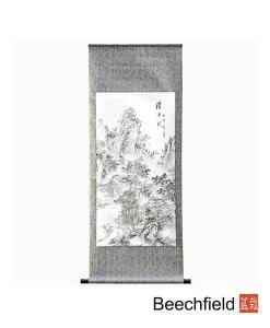 Chinese Landscape Hand Painted Scroll