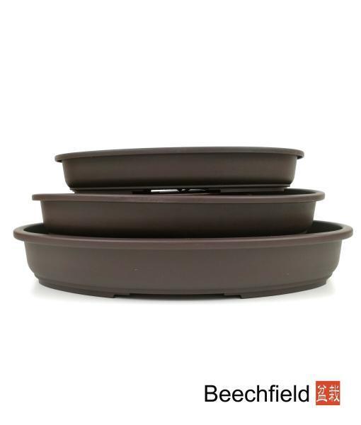 Oval Shallow Plastic Bonsai Training Pot Beechfield Bonsaii