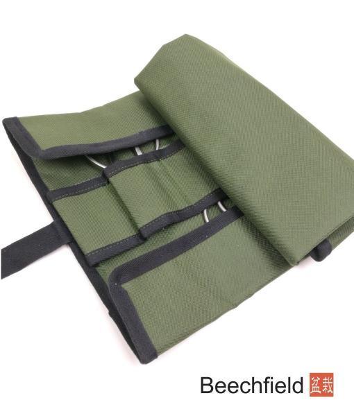 Basic Bonsai Green Canvas Tool Roll Case Beechfield Bonsai