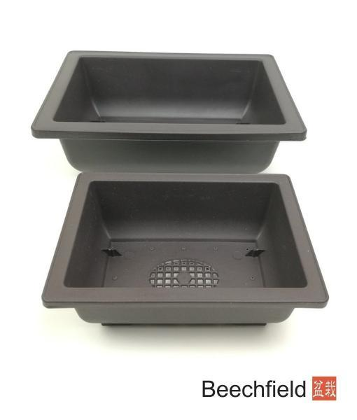 XLP001 Rectangular Plastic Bonsai Training Pot Beechfield Bonsai