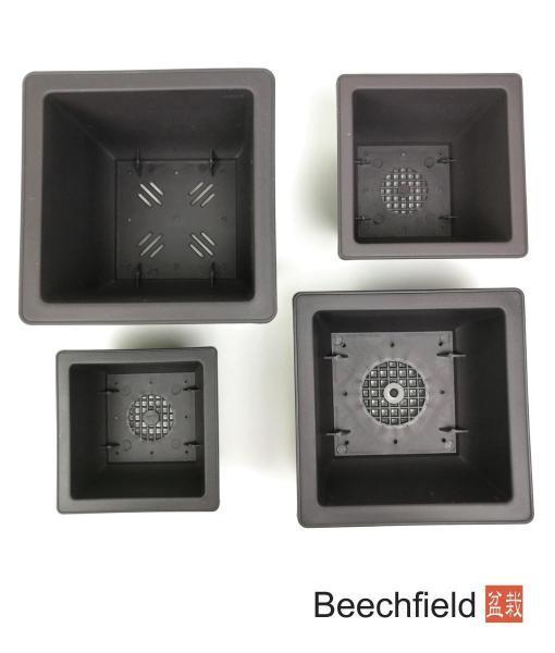 XLP002 Square Plastic Bonsai Training Pot Beechfield Bonsai