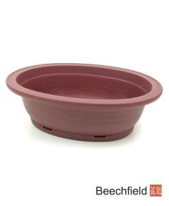 XLP004 Plastic Oval Shaped Bonsai Training Pot 220mm Beechfield Bonsai